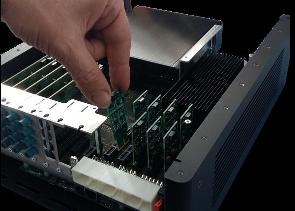 Plugging IO Module in Xylon's logiRECORDER